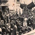 1952 -  In Via Roma, la Processione di S.Francesco