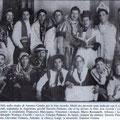 1946 Carnevale, foto ricordo nello studio di Antonio Candia