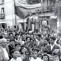 Anni '50-Processione dei santi Cosma e Damiano