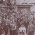 anni '50-La processione di S.Francesco