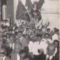 Fine anni '50 Processione di S.Francesco (tra gli altri mio padre con la mia cara sorella Antonietta e zio Ciccio Longo)