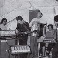 Fine anni '60 Complesso musicale con Vincenzo Sanseverino, Tonino Rizzuto, Giorgio Geraci,Alfonso Capalbo,Giovan Battista Berardi e Antonio Scarcella