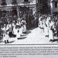 Anni '30 Processione del Corpus Domini