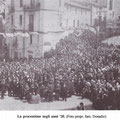 Anni '20 Processione