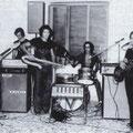 """1968 """"Dare Precedenza"""" da sx, Totonno Scarcella,Vincenzo Sanseverino,Giovan Battista Berardi,Tonino Rizzuti e Giorgio Gerace(foto di T.Scarcella)"""