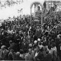 Inizi anni '50-Via Roma, processione di San Francesco