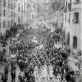 All'inizio del '900-Processione San Giuseppe(foto di Salvatore Grillo)