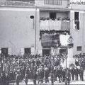 1° Maggio 1927-Inaugurazione del monumento a Guido Compagna( a ra gghjazza)
