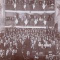 1931-Cinema Comunale. Nei palchi in fondo riconoscibili le famiglie Superchi, Macrì, Scipione, Gallerano
