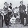 """Anni '60 - Il Complesso """"I Diabolici"""" (da sx-Franco Le Pera-Giorgio Geraci-Giuseppe Trescale-Tonino Pipieri-Antonio Scarcella)"""