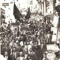 anni '50 Processione di S. Francesco