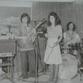 Anni '70 Complesso musicale, The Silver Stars, con Tony Berretta(Napoli), Giovanni Mannara, una cantante portoghese e Giuseppe Trescale
