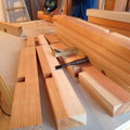 加工した木材は・・・