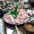 みこしの後の宴 ものすごい肉の塊