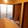 2階の各部屋の造作はすすむ