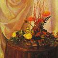 合田スミ  (群馬)    奨励賞 『テーブルの上のダリア』 油彩