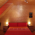 Gran cama de matrimonio de 1,60m x 2,00m con colchón de latex.