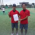 山本長島ペア勝利!ベスト32でした