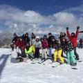 1日目スキー班(^O^)