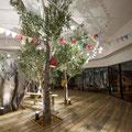 フィール旭川フェイクグリーンオリーブモチーフ 2階巨木