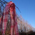 オーダー作品 春が始まる頃に織り上がった作品