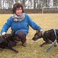 25 februari 2012 - Qby met Quinty vom Grubenländer Schupo
