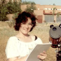 Mi primer telescopio: Tasco 114mm  regalo del año 1989. Lo disfruté mucho en trabajos solares.