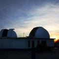 Vistas de las dos cúpulas abiertas listas para trabajar.
