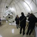 Los informativos de La Sexta graban en la cúpula del T77