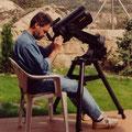 """Mi primer telescopio: Celestron 8"""" año 1991"""