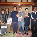 宮城県内での炊き出しで樋口 可南子さんと糸井重里さんとお会いしました。