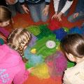 """Das """"Kerzenritual"""", Kinder schicken gute Wünsche in die Welt"""