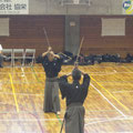 松永先生の剣道形演武