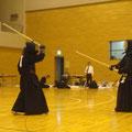 信篤道場同士の決勝戦 (六段以上56歳以上の部)