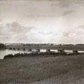 Le pont Carbonneau au début des années 1930. Fonds Studio Chabot.