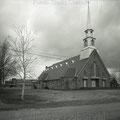 Église de La Doré. Années 1950. Fonds Studio Chabot.