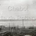 Incendie qui ravagea la partie nord de Saint-Félicien dans la nuit du 2 mai 1932. Fonds Studio Chabot.