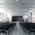 Auditorium de l'hôpital Sainte-Élisabeth (Claire-Fontaine), 1957. Collection Jean Gagnon.