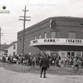 Théâtre Diana de Roberval à la fin des années 1950. Fonds Studio Chabot.