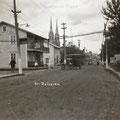Boulevard Sacré-Coeur à la fin des années 1920. Fonds Studio Chabot.
