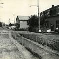 Boulevard Saint-Joseph à la hauteur de la rue Marcoux. 1901. Collection Maurice Cossette.