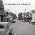 Boulevard Sacré-Cœur. 1955. Fonds Studio Chabot.