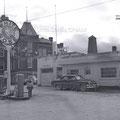 Station-service White-Rose de Roberval en 1952. Fonds Studio Chabot.