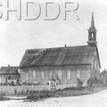 Ancienne église Notre-Dame. Années 1920. Collection Jean Gagnon.