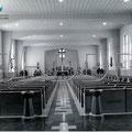 Chapelle de l'hôpital Sainte-Élisabeth (Claire-Fontaine), 1957. Collection Jean Gagnon.