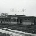 Gare de Chambord en 1950. Fonds Fernand Bilodeau.