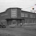 Première école Mgr Bluteau en 1951. Fonds Studio Chabot.