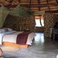 Stone Camp im Mkaya Game Reserve, Swaziland