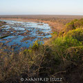Blick vom Olifants Camp, Krüger Nationalpark