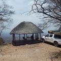 Campingplatz mit Aussicht, im Chizarira Nationalpark